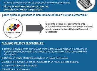 Delitos e ilícitos electorales