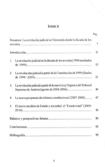 indice revolucion judicial