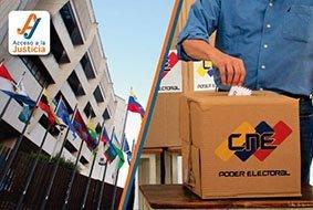 Sala electoral rechaza nulidad de actos del CNE por inepta acumulación de pretensiones