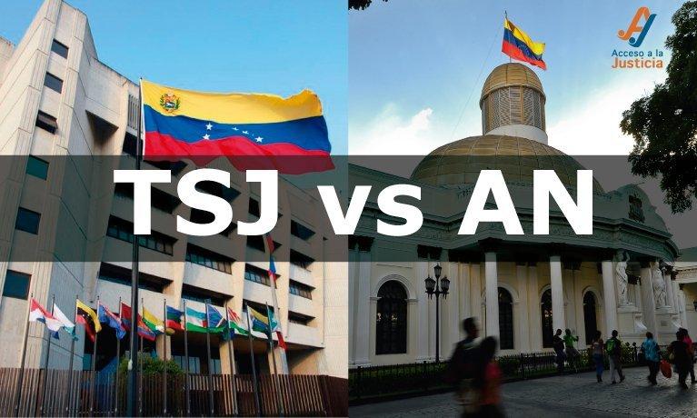 TSJ suspende 7 sesiones de la Asamblea Nacional