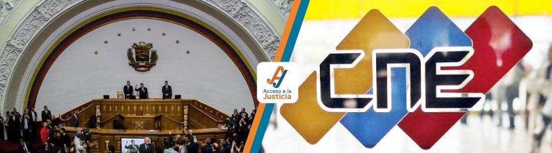 Solicitud de declaratoria de omisión por parte de la Asamblea Nacional de designar a los Rectores y Rectoras del Consejo Nacional Electoral