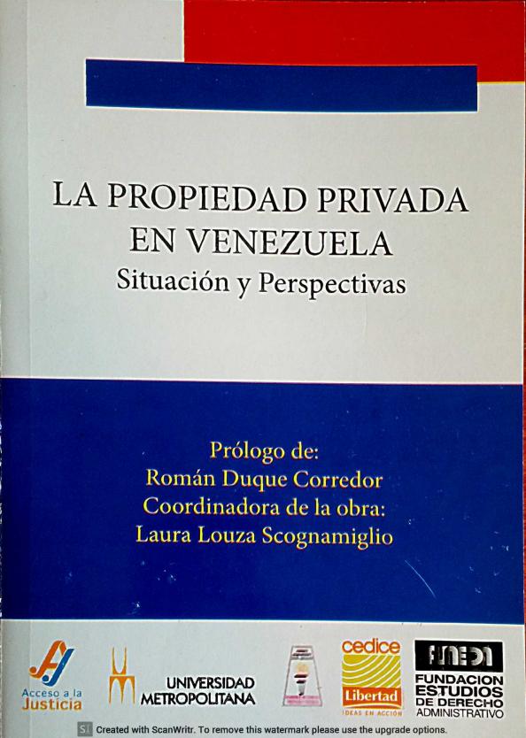 la propiedad privada libro