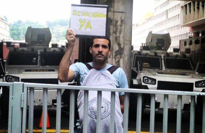 El Poder Judicial limita al venezolano en su derecho a protestar