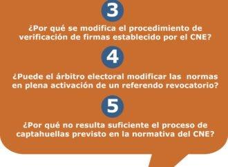 5 Preguntas de Acceso a la Justicia al CNE