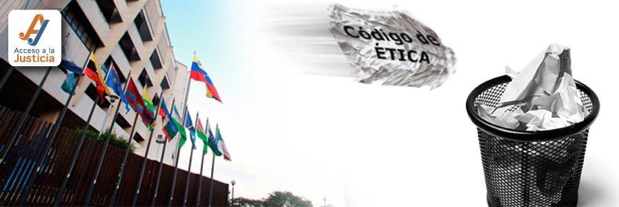 Magistrados sin Código y sin ética