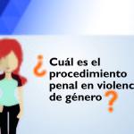 Procedimientos penales en caso de violencia de género