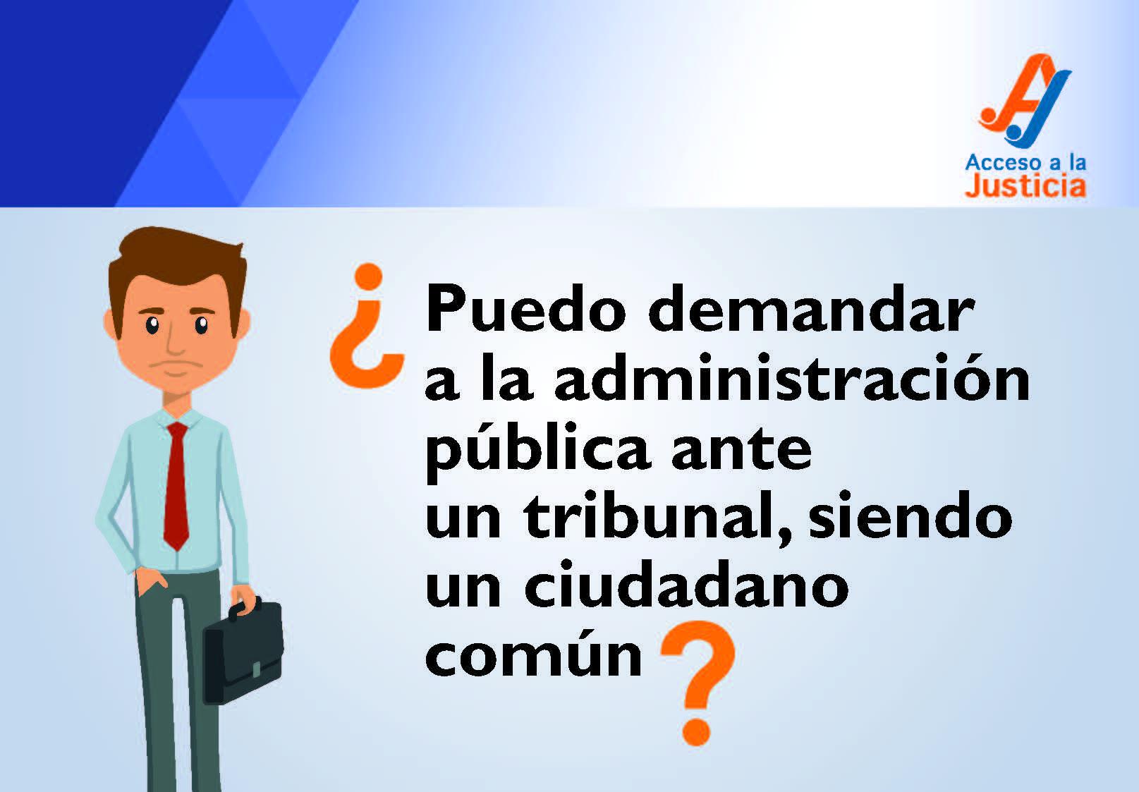¿Qué hago si tengo problemas con la administración pública?