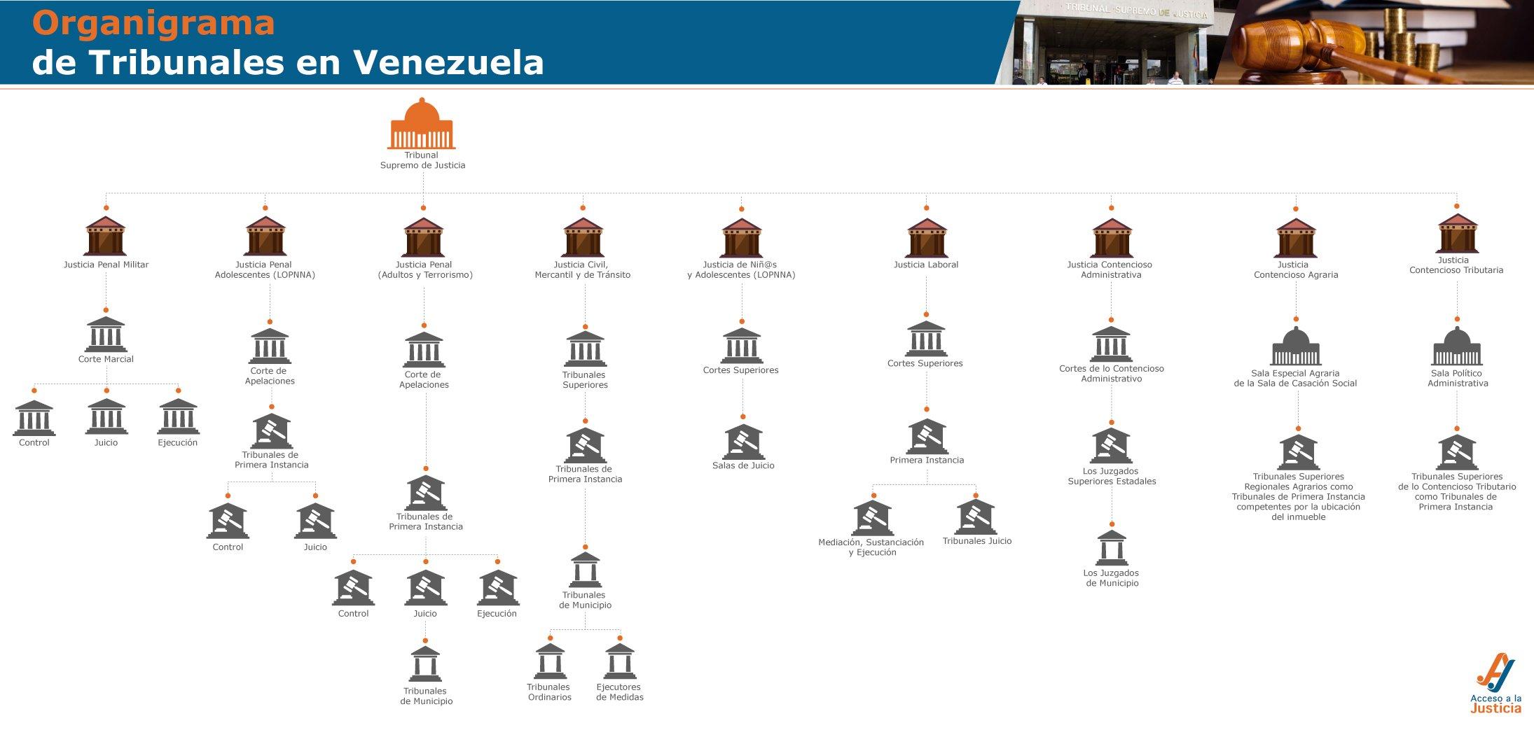 Organigrama-tribunales-en-venezuela