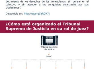 ¿Cuál es el rol del poder judicial venezolano?