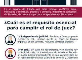 ¿Cuál es el rol del Poder Judicial?