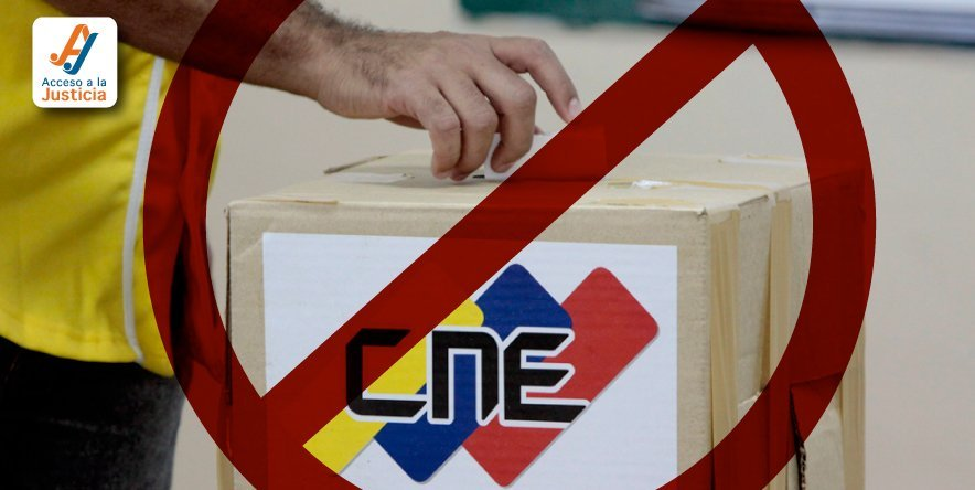 Decaimiento de acciones contra actos del CNE sobre convocatoria a la Constituyente