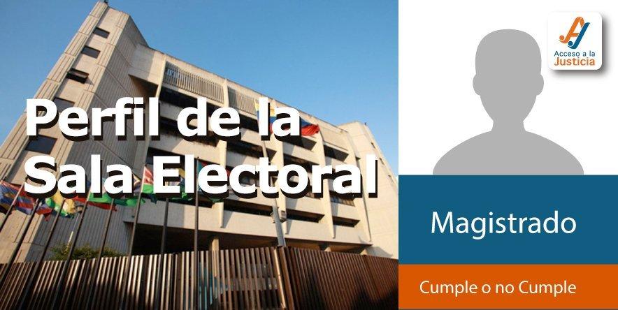 Perfil de la Sala Electoral del TSJ