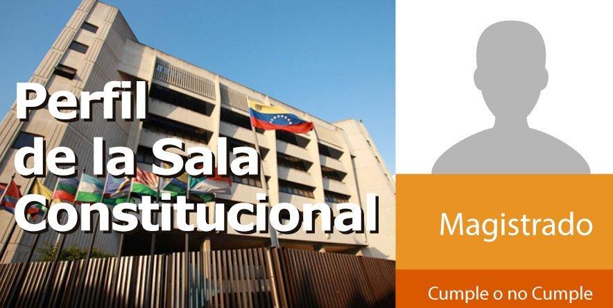 Perfil de la Sala Constitucional del TSJ