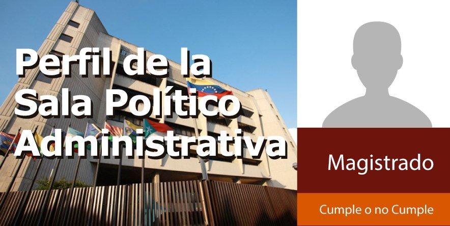 Perfil de la Sala Político Administrativa del TSJ