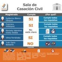Perfil de la Sala de Casación Civil