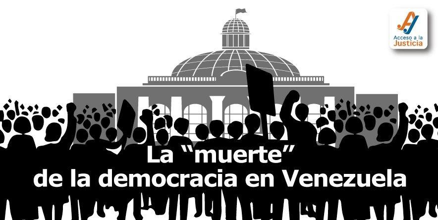 """La """"muerte"""" de la democracia en Venezuela"""