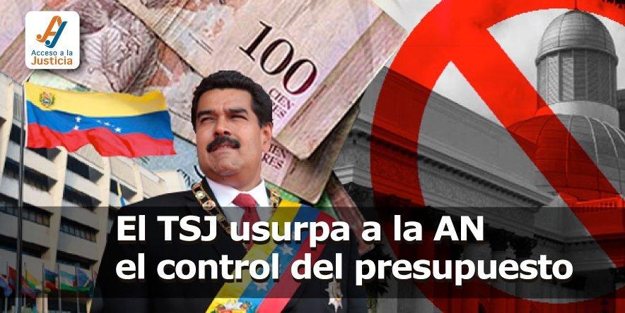 El TSJ usurpa a la AN el control del presupuesto