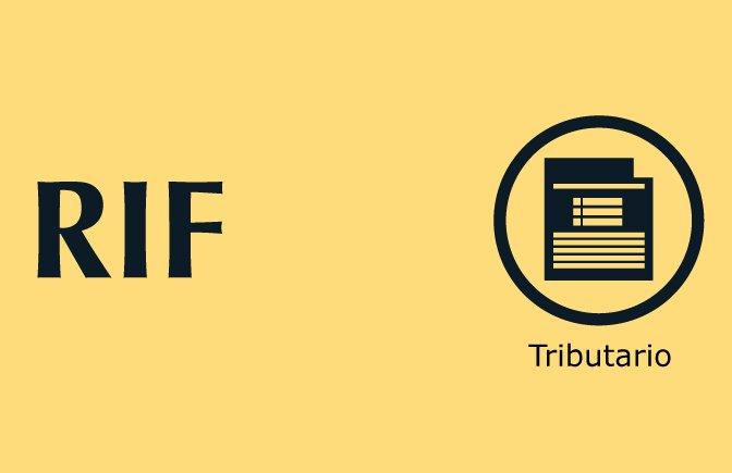 Trámites nuestros de cada día: RIF