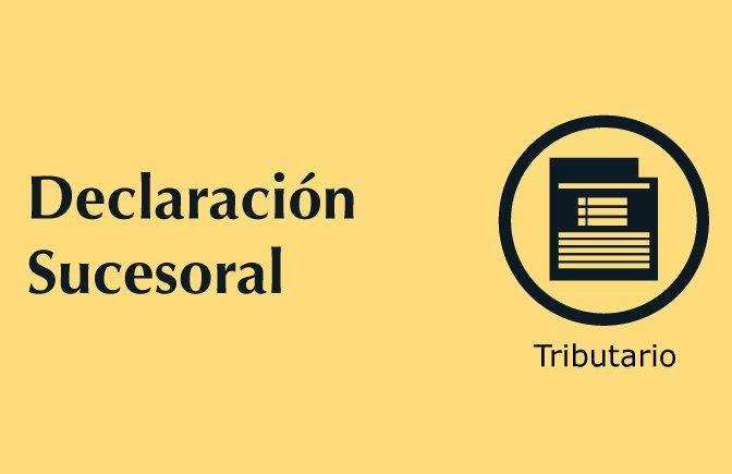 Trámites nuestros de cada día: Declaración sucesoral