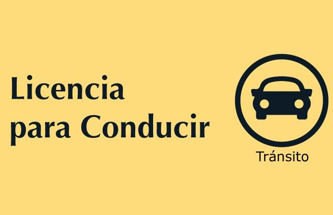 Trámites nuestros de cada día: Licencia para conducir