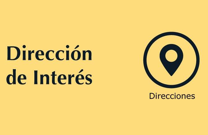 Trámites nuestros de cada día: Direcciones de interés para usuarios