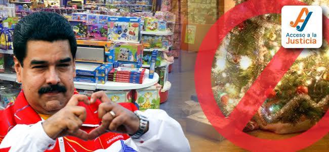 Con arbitrariedad no hay Navidad