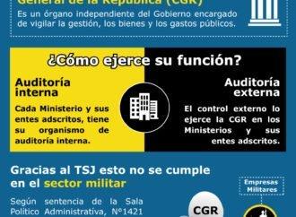 La caja negra militar: El TSJ elimina el control sobre las empresas militares