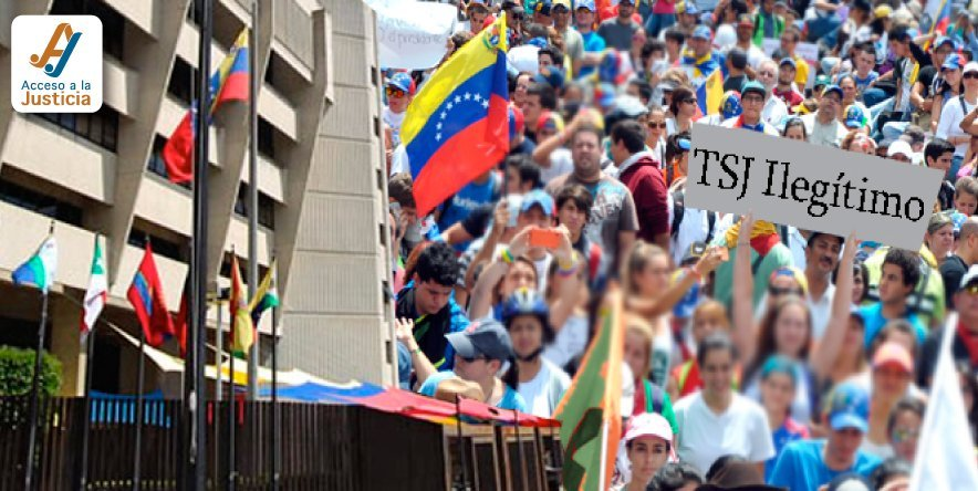 El reto del TSJ: una apertura del año judicial en medio de protestas