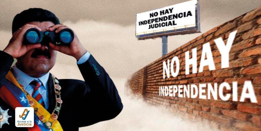 Venezuela no pudo seguir negando la falta de independencia judicial en el EPU