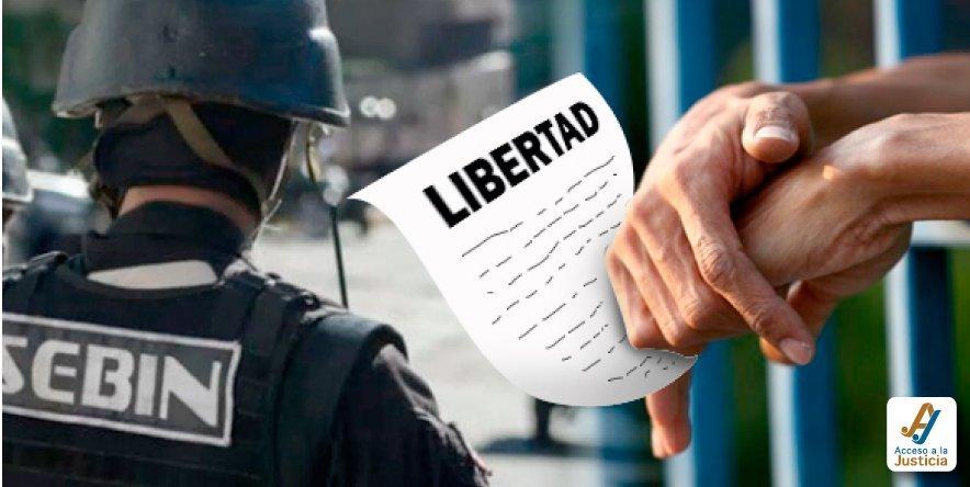 Sebin vs. Poder Judicial: presos con boletas de excarcelación