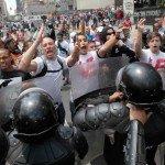 Amparo cautelar por intereses colectivos y difusos contra autoridades locales para impedir manifestaciones públicas