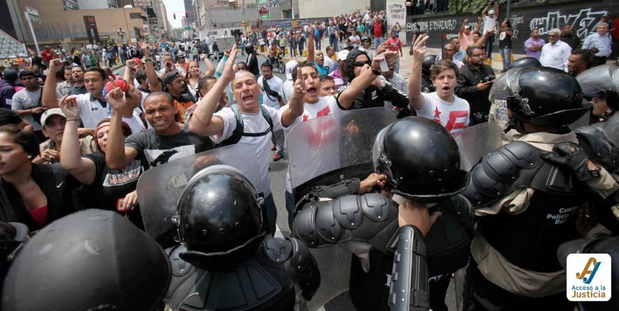 ¿Por qué no se aplican en Venezuela las normas de la CRBV frente al ejercicio del derecho a la manifestación?