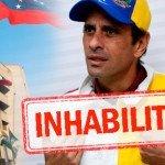 TSJ ordena a Capriles impedir las manifestaciones de calle en su estado