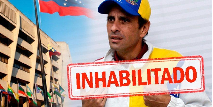 Otra ruptura del orden constitucional: las inhabilitaciones de Capriles y Scarano