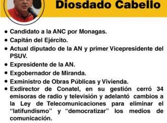 """Los """"peces gordos"""" de la Constituyente: Diosdado Cabello"""