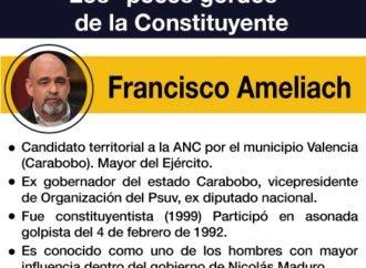 """Los """"peces gordos"""" de la Constituyente: Francisco Ameliach"""
