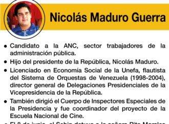 """Los """"peces gordos"""" de la Constituyente: Nicolás Maduro Guerra"""
