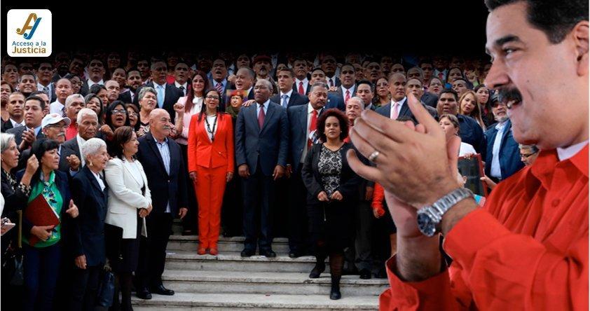 El rol legislativo de la Asamblea Nacional Constituyente al servicio del poder