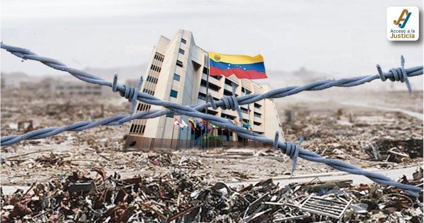 La tramoya penal del Gobierno venezolano