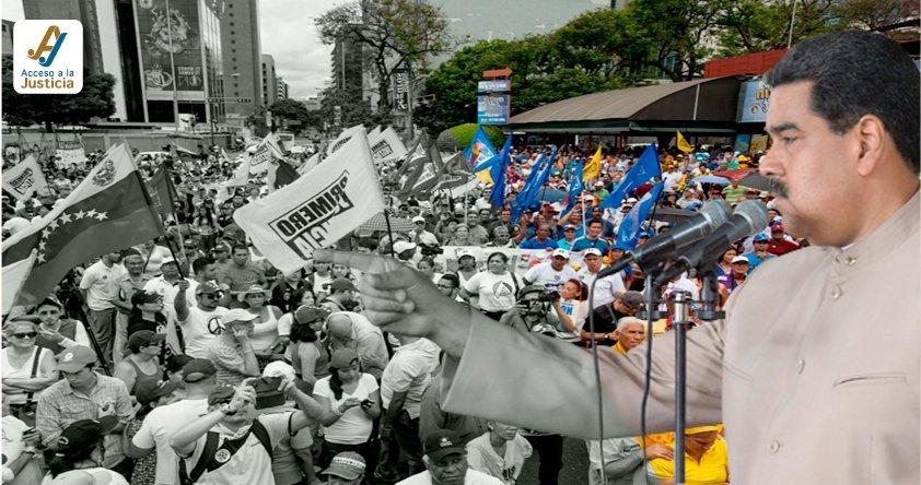 """7 claves sobre la """"ilegalización"""" de los partidos políticos anunciada por Maduro"""