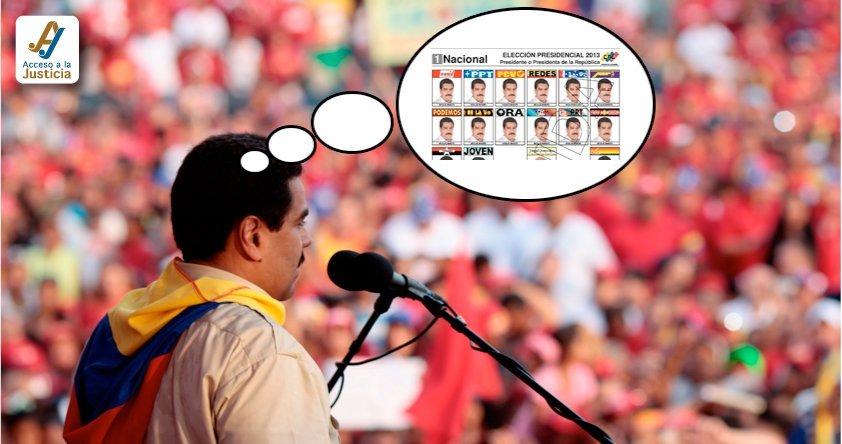¿Puede Maduro postularse a la reelección en la Presidencia?