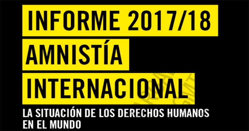 Informe Anual de Amnistía Internacional: Datos de la emergencia humanitaria en Venezuela