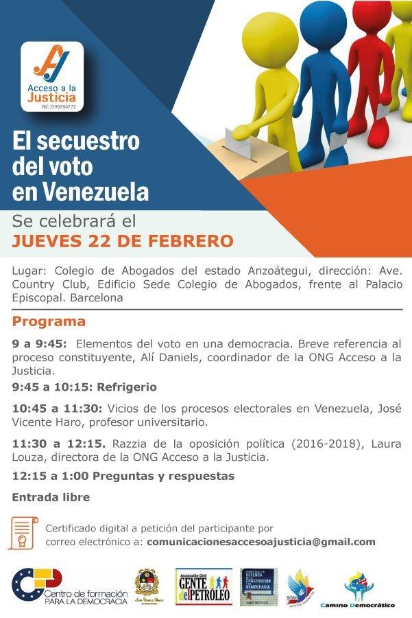 El secuestro del voto en Venezuela
