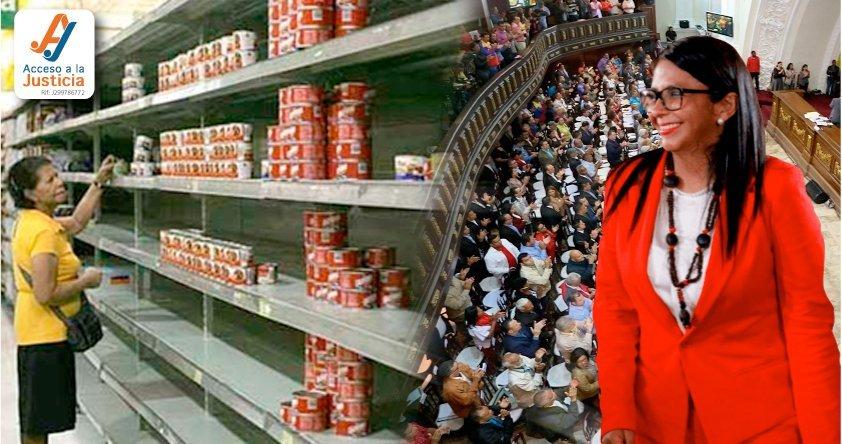 ANC pretende institucionalizar la escasez de alimentos en Venezuela: los CLAP