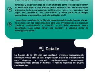 Venezuela en la mira de la CPI