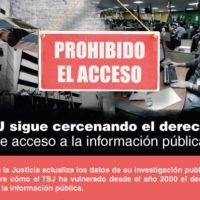 TSJ escala en su objetivo de negar el acceso a la información pública