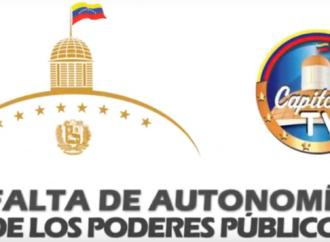 Falta de autonomía de los Poderes Públicos