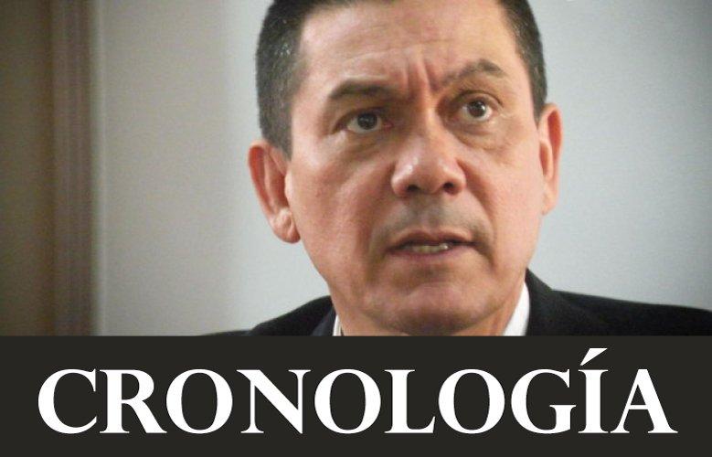 Cronología del caso de Fernando Albán