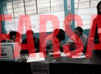 Elecciones de concejos municipales, o una farsa electoral más