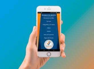 Descarga en tu móvil la nueva app de Acceso a la Justicia